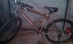 21 speed Mongoose mountain bike. In great shape. Need to get rid off it. Asking $75 obo