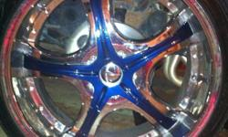 404 784 3840 call in interested 22 inch rims and tires ready to go