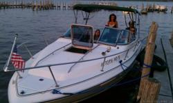 22 ft Sea Ray runs excellent! Vary clean and fast $9,000. or best offer by owner Antioch, Il. You can talk to my boat mechanic that checks it for everything and winterized it. Has two good batteries that I keep indoors in the winter, 4-props (one is