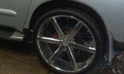 """26 Inch 2014 Sevizia""""s Rims & Tires for $1400. Purchased in August 2014. Brand new condition."""