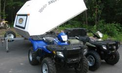 *****2006 POLARIS 4X4 SPORTSMAN 500 H.O SPECIAL EDITION AUTOMATIC VERY LOW MILES WITH REVERSE, HIGH, LOW, NEUTRAL, PARK WITH ELECTRIC START,PULL START BACK UP, INDEPENDENT SUSPENSION, PUSH BUTTON 2&4 WHEEL DRIVE ON COMMAND. THIS QUAD IS AS CLOSE TO BRAND