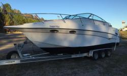 Please be sure to review the attached NADA GUIDE REPORT. It is the last attachment. This boat is PRICED RIGHT TO SELL!  There are many key reasons why you should make this SUPER cruiser your next boat! It is a very roomy, smooth riding,