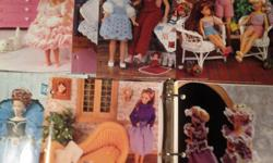 Up for sale are 2 Ring Binders of Annie's Attic Plastic Canvas Patterns with 6 Barbie Doll Clothing patterns included and a few Leisure Arts All Star Patterns also included. The patterns are in very good condition. There are a few duplicate patterns.