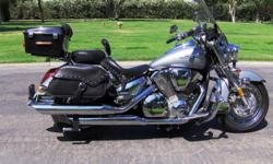 Motorcycle has the Voyager Convertible Trike Kit which allows motorcycle to switch between 2 and 3 wheels within 10 min. Bike has been inA+ condition since day one and maintain by the Honda dealer in Lancaster. Bike has an easy 7,407