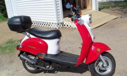 2 2008 Schwinn scooters like new. Rode only one year and storedin garage. One has less than 500 miles, the other has just over1000 miles. Both may need new battery, but have been running this week.