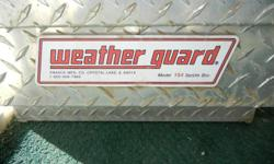 two weather guard truck bed tool boxes to choose from $150.00 each (used, NO keys, as is )..OBO new normally sells for around $375.00 in good condition  661-942-2112 for info and address