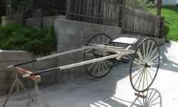 100 year old horse cart in great shape. Ph# 805 306-1116