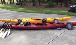 (1) Wilderness system 16.5 Tempesttouring kayak (1) ?