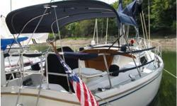 1989 Catalina 34 Ft sailboat. Roller Furling, 150% Genoa, inbrd 23 Hp diesel with approx. 1200 hrs, Bimini, sail cover, 12,000 BTU A/C with reverse heat, stereo CD, Compass, microwave, refrigeration system, 6 gallon hot water heater, pressure water