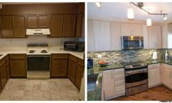 Feature Design has a promotion of remodeling your kitchen starting $3500. This promotion is for installationonly,all materials will be purchased by customer.Then renovation will include installation of 15kitchen cabinets,