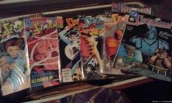 Had them for a while time to let them go all still in the plastic everything from batman to heman spider man n hulk