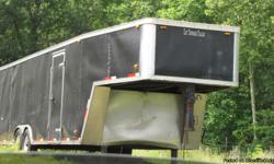 36' Goose Neck Enclosed Trailer--Tennesse Trailer--Excellent Condition