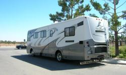 05 MOTOR HOME GOOD CONDITION NEW TIRES, NEW BATTERIES, SOLAR CHARING READY TO GO. 300 CUMMINS DIESEL ENGINE, GENERATER ON FREIGHT LINNER CHASSIS WITH 5 SPEED ALLISON TRANSMISSION. WITH ONE LARGE SLIDE.CALL FOR COMPLETE LIST 661-526 2331 OR E MAIL ME