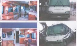 This 2005 37 ft Newmar gas Motorcoach, is in gently used , excellant condition. No smoking, kids or pets. With 32700 miles on it and several upgrades including wood floor, a stack pack washer and dryer and a new digital antenna, makes this coach, an out