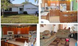 ****Go to Details**** Short Sale! Active with contract. 3 bedrooms, 2 full bathes and 2-car garage! Open floor plan! Wood cabinets in kitchen. Located on a cul-de-sac. Nice family home. Make an offer!  ***SEE OTHER SIMILAR LISTINGS HERE***