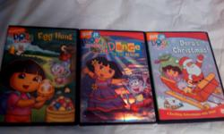 3 used Dvd's that are in good condition.