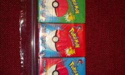 3 Pack Pokemon Mini Palying Cards (1999) Red-Green-Blue - Great Condition! Look like they have never been used! $15 OBO Please check out our entire inventory at shop.lrwcandlesandmore.com. We update our inventory as we get new items. Please feel free to
