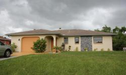 """Fantastic value with 3 bedrooms and 3 full baths. The 3rd bedroom is perfect for an In-Law suite or an efficiency apartment, with a separate entrance off of the lanai. It measurers 18'11"""" by 18'11"""". House"""