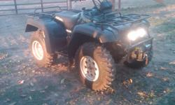 Automatic Quad Master 500 with wench on front, starts by key, runs great, seat not torn or ripped