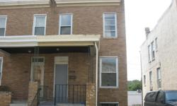 $35k obo Located on the 400 Blk of S Bentalou st Baltimore, Maryland Hello all this is a 3 floor end unit town house with 3 big bedrooms 1 bathroom nice kitchen size also a good dinning room area and an unfinished basement. This property is right by west