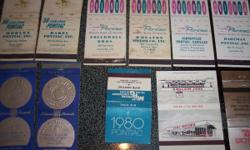 (40) GM 1950s 1960s 1970s Matchbook Covers $80.00 for all.
