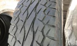 All tire are 10/32 no burned edges very nice set