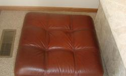 "We have 4 Leather Ottoman to sell. Never Used. $50 each. Dimensions: 19""H x 20""L x 20""W Call or email: 651-260-7773"