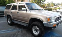 1998 4 RUNNER SR5-V6, 4WD AUTOMATIC FULL PACKAGE TAN LEATHER INTERIOR GOLD EXTERIOR COMPLETE WITH A SUNROOF! MUST SEE! GREAT CONDITION! FRESH START MOTORS 100% GUARANTEES YOUR CREDIT APPROVAL! CALL TODAY FOR A CONSULTATION OR YOU MAY VIEW OUR FULL
