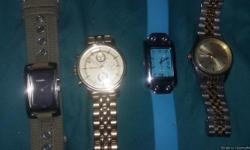 Gold fossil is brand new in box 70.00 green is a fossil make offer all or individual