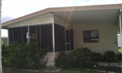 2 br. 2 bath new wood floor in living room furnished. Central air heat. Carport colony cove.