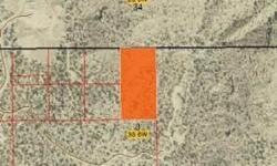 5 acres Sec 3 T3S R6W USM E1/2NE1/4NW14NE1/4. Borders Indian land. Roads in the area. MLS#1131636 www.freedomrealtycorp.com