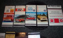 5 GMC Truck Matchbook Covers all for $25.00