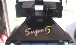 PullRite Super 5th Wheel Hitch 17,500 lb max gross trailer weight, 4,500 vertical load rated.