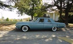 nice 64 plymouth belveder 318 v8 push button a/t new brakes, fuel  pump, starter new coaker widewhites 7000 miles on it 4 door runs and drive,s great
