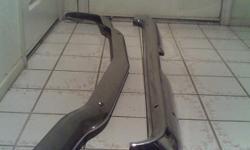 Rear bumper for 65/66 Mustang (good chrome).