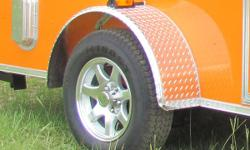 6x12 enclosed trailer-w/ v nose. Includes ¾ plywood floors, 3/8 plywood walls, side entry door, roof vent, 12 v interior dome light, rear ramp door, atp stone guard, Conatct 470-375-1709 hurry get your dream trailer!