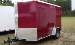 Stock #: custom order Serial #:order Description :::::::: trailer: v-nose front w/ solid front wall construction, rear ramp door & spring assist, 32' side door w/ rv flush lock w/ keys, thermacool ceiling,