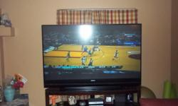 73 inch Mitsubishi Flat Screen (3D ready) TV with stand! TV was purchased in May and is in mint condition. Looking for a great Christmas gift well this is it! Contact me and pick it up today!