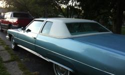 All orig miles 44,000 one family owner car. Powder blue white leather. Needs some very minor little things. --