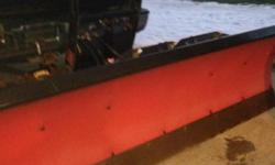 I am selling my 7 and a half foot Boss RT3 Straight Blade Standard Duty Poly snowplow. It came off a 1999 GMC Sierra 1500 and works flawlessly. It is the quickest moving plow I have used. The plow has the smarthitch quick connect and release. It was only