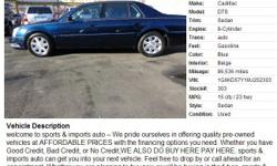 2006 Cadillac DTS Sedan, 86,536  Address: 2756 Atlantic Avenue Brooklyn, NY 11207  View our website: www.sportsandimportsny.com  Notes: welcome to sports & imports auto ? We pride ourselves in offering quality pre-owned vehicles at AFFORDABLE PRICES