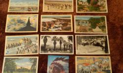 I have at least (82) Vintage Post cards from Utah, Wyoming, Texas, Arizona, and California and more Come See in Excellant Shape you won't be Dissappointed.