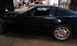 Runs great but needs paint and tlc!!! Black 2door Corvette needs a new home 3500 or best offer... 803-404-8694