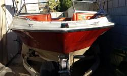 Great family boat runs well comes equipped with sound system fish finder and Bimini top must sell