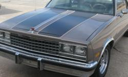 1985 caballero-just like a el camino-rebeuilt 350 chevy-bored,completly re done-ties,brakes,interior,paint,dual exhast-true,spayed bed -liner-same color as car,electric remote door openers