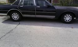 88 chevy for sale...runs good...needs sme bdy work...great project car!