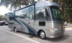 Two large slides in this luxury open road travel home that provide you maximum enjoyment, safety and comfort. ? Year: 2013 ? Make: Thor Motor Coach Home ? Brand: ACE ? Model: A.C.E. 30.1 ? VIN: 1F65F5DY9D0A00086 ? Color: Blue, Browns and Gold Exterior ?