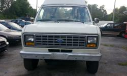 91 Ford Econoline .Miles 590675 .Vin 1fthe25h9mhb37928 .AC .Wheel chair lift .Power Steering .Power brakes .110 Volt electric .Tape player for more information on this vehicle contact B & K auto sales 931-372-1380, or Michael hunter 931-261-5408 we do not
