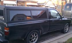 """93TOYOTA PICK UP 4 CILINDERS 2.4 ENGINE N' LINE ,130 000 MILLES SHIFT STIGK WITH CAMPER,CHANGE OIL EVERY 3 MONTHS, STATER CHIP,,, ALUMINIUN WHEELS N"""""""""""" INCLUDE. NEGOTIABLE"""