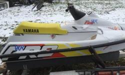 93 Yamaha VXR pro jet ski with trailer. Runs great. $1200 obo